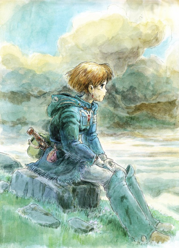 Nausicaa of the Valley of the Wind - Comic Drawing 1