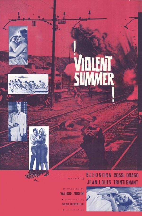 Um Verão Violento Poster