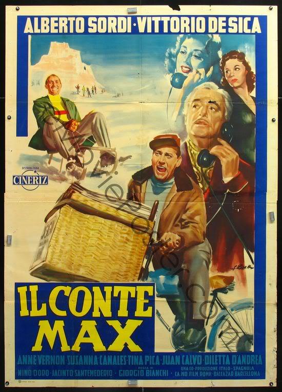 O Conde Max - 1957 - Poster 1