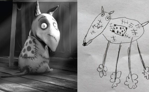 Frankenweenie - 2012 - sketch