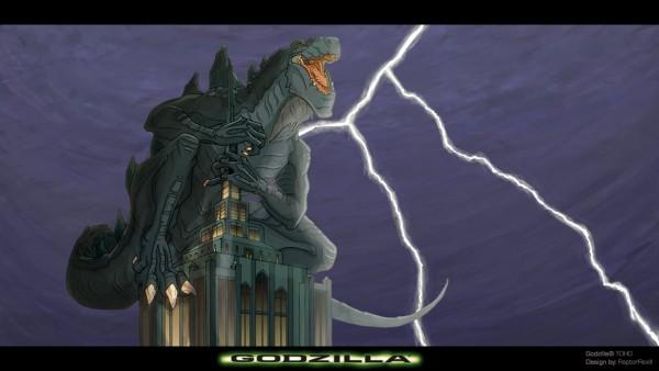 Godzilla - 1998 - animated