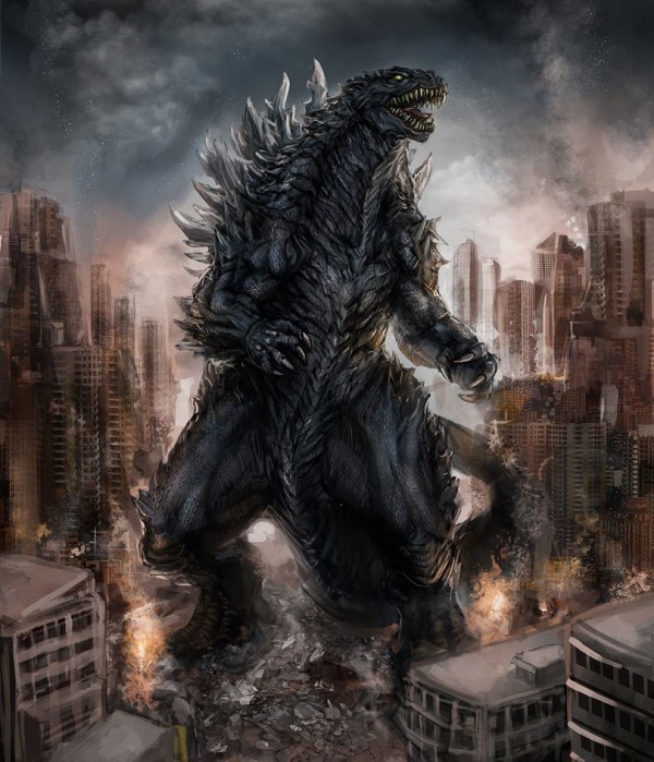 Godzilla - fan poster 1