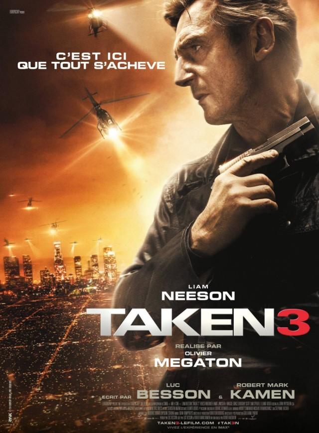 Taken 3 - Poster 3