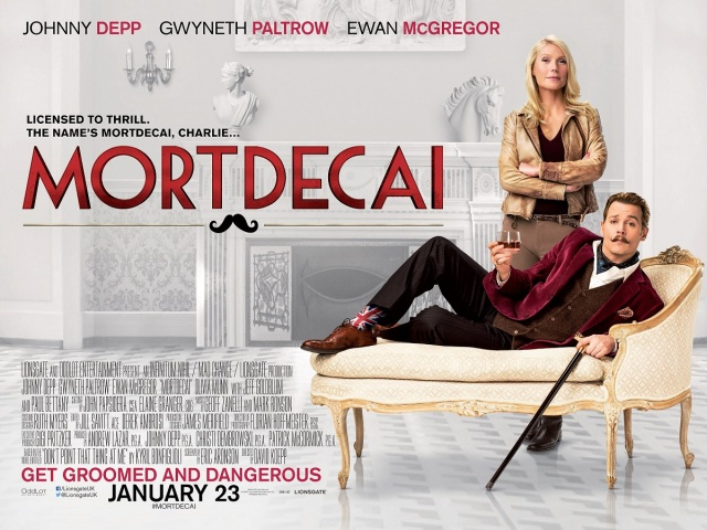 Mortdecai - Poster 7