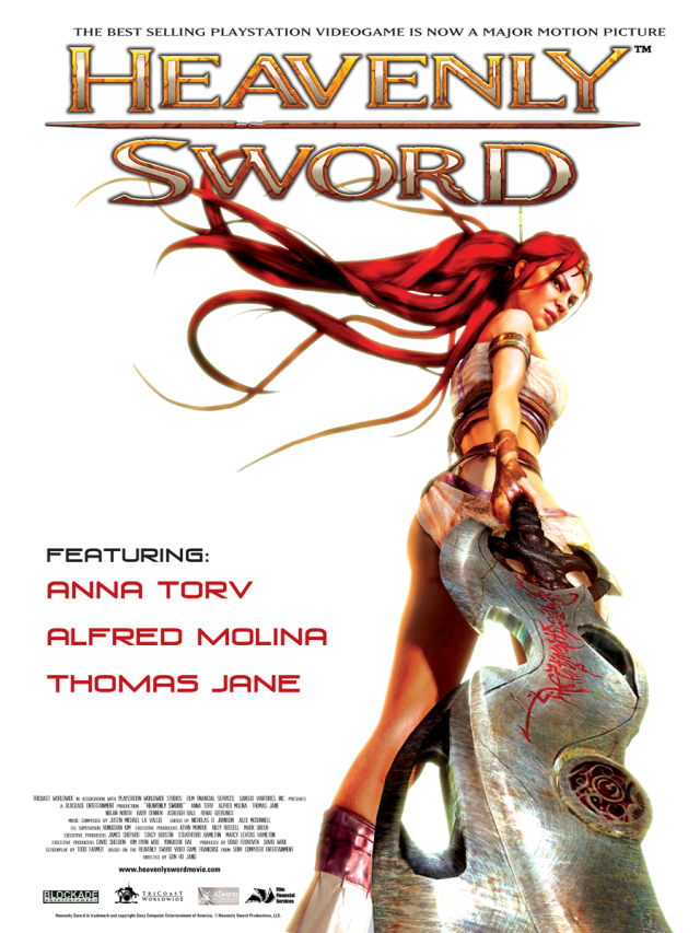 Heavenly Sword - Poster 1