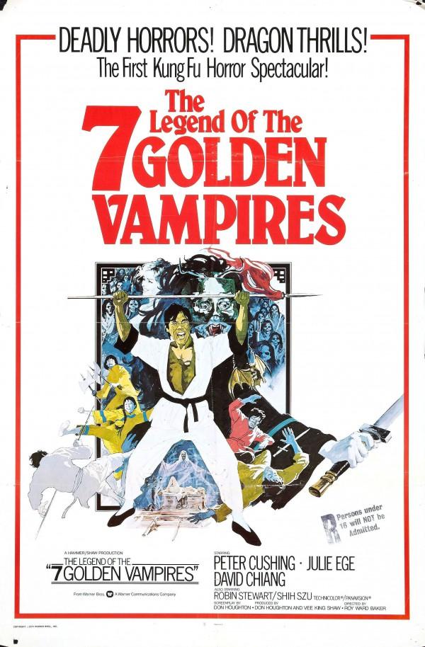 Kung Fu contra os 7 Vampiros de Ouro - Poster 1