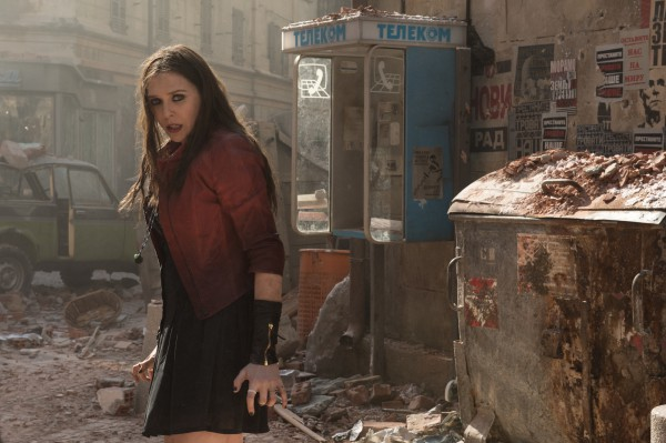 Marvel's Avengers: Age Of Ultron..L to R: Scarlet Witch/Wanda Maximoff (Elizabeth Olsen)..Ph: Jay Maidment..?Marvel 2015