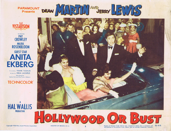 Hollywood or Bust - lobbycard 3