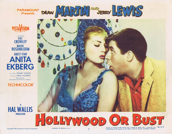 Hollywood or Bust - lobbycard 4