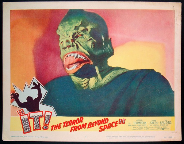It! The Terror from Beyond Space - lobbycard 1