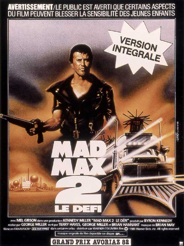 Mad Max 2 - O Guerreiro da Estrada - Poster 2