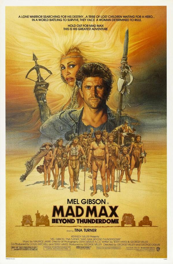 Mad Max 3 - Além da Cúpula do Trovão - Poster 1