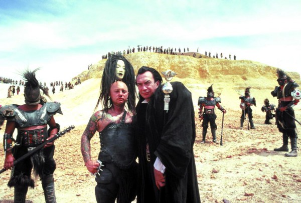 MAD MAX BEYOND THUNDERDOME, from left: Angry Anderson, Ted Hodgeman, 1985, ©Warner Bros.