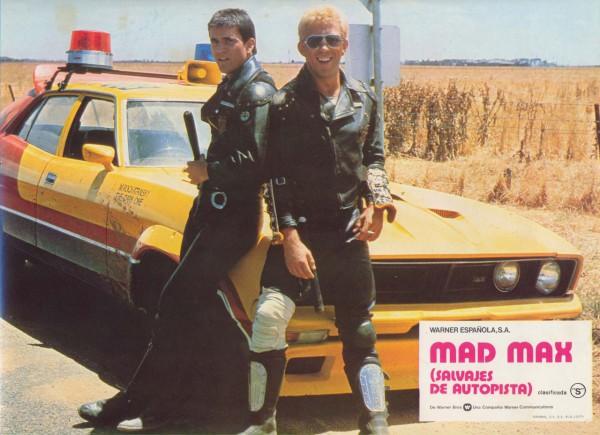 Mad Max - lobbycard 1