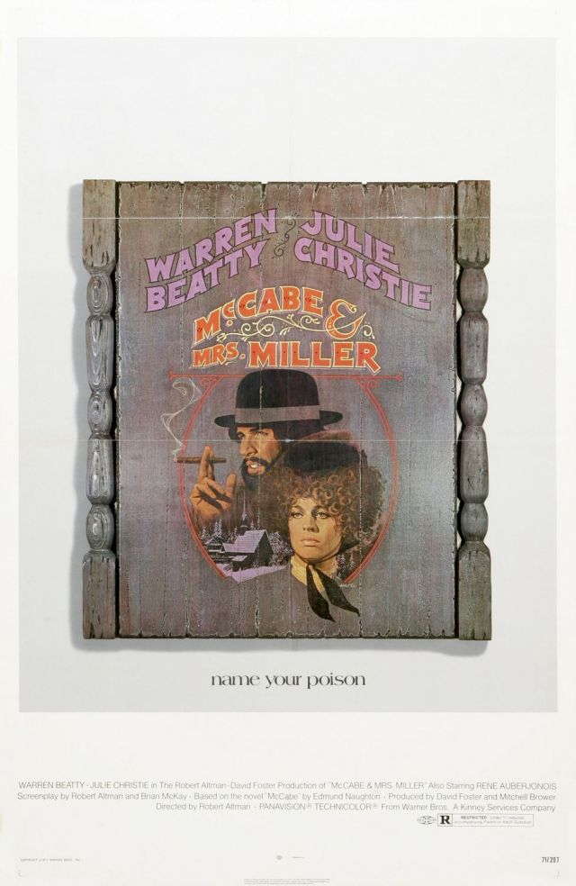 McCabe & Mrs Miller - Poster 2