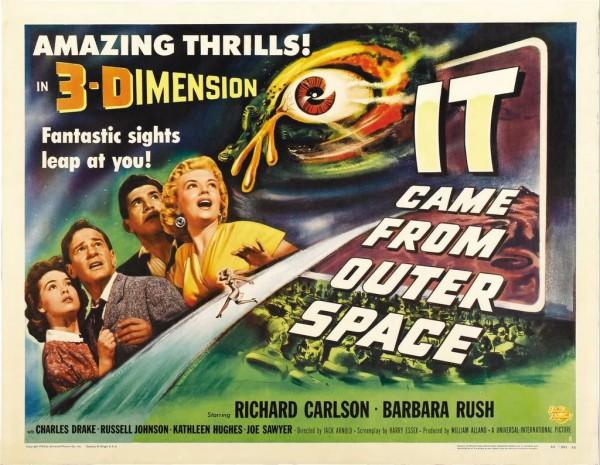 Vieram do Espaço  - Poster 2