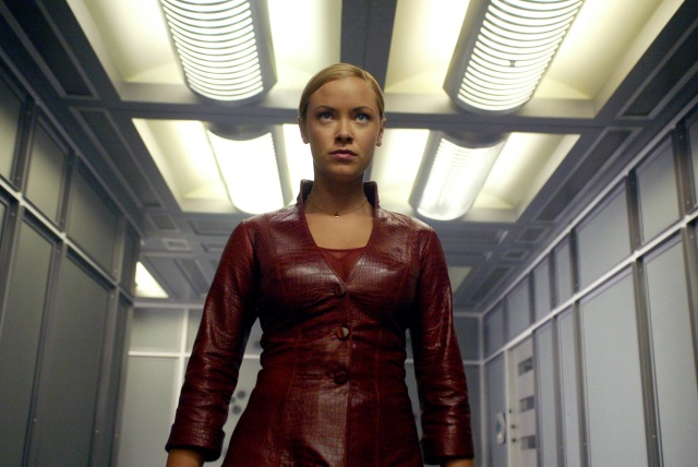 "Jun 30, 2003; Hollywood, CA, USA; KRISTANNA LOKEN as T-X in the sci-fi, action, thriller ""Terminator 3: Rise of the Machines"" directed by Jonathan Mostow. Mandatory Credit: Photo by C-2 Pictures/ZUMA Press. (©) Copyright 2003 by Courtesy of C-2 Pictures"