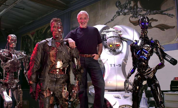 Terminator Salvation - backstage 1
