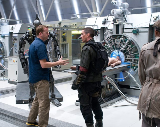 Terminator Salvation - backstage 2