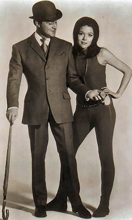 The Avengers - Patrick MacNee & Diana Rigg - Photo 1