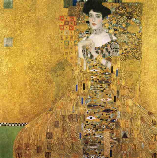 Woman in Gold - Painting