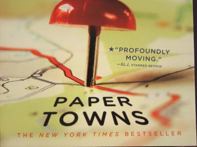 Paper Towns - bookcover 2