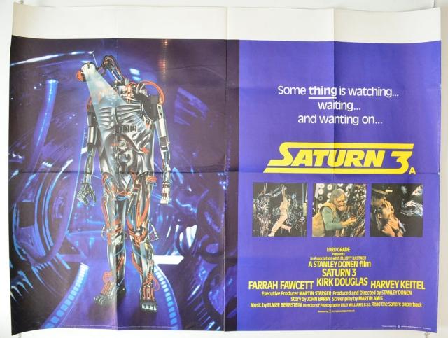 Saturn 3 : Cinema Quad Poster
