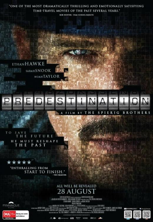 Predestination - Poster 1