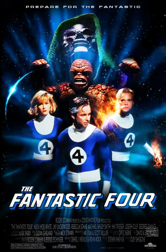 The Fantastic Four - 1994 - Poster 1