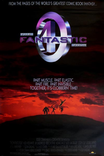 The Fantastic Four - 1994 - Poster 3
