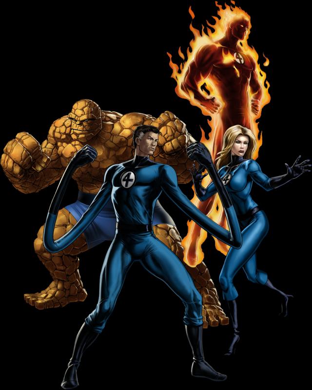 The Fantastic Four - Comics - 1