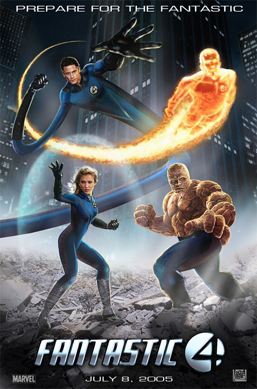 Fantastic Four - 2005 - Poster 11