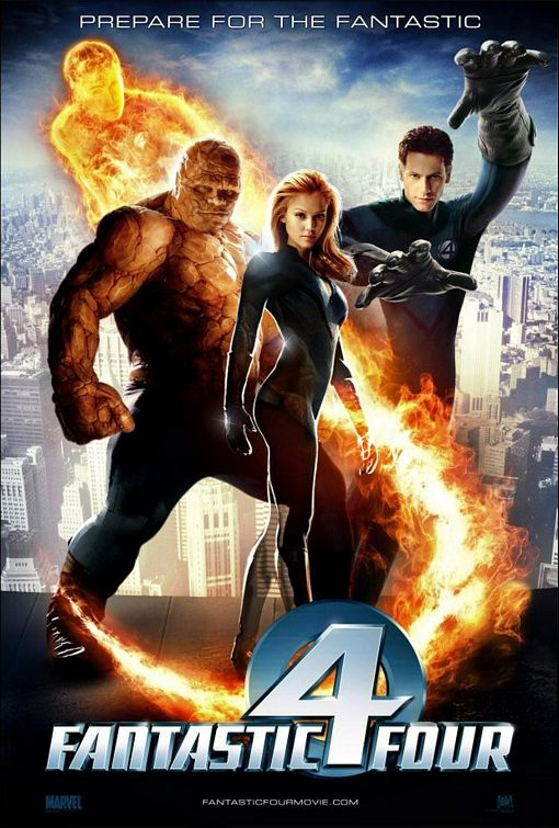 Fantastic Four - 2005 - Poster 3