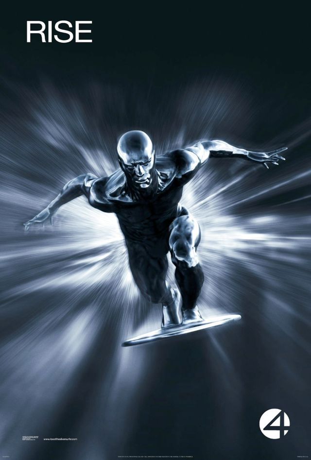 Fantastic Four - Rise of the Silver Surfer - Poster 1