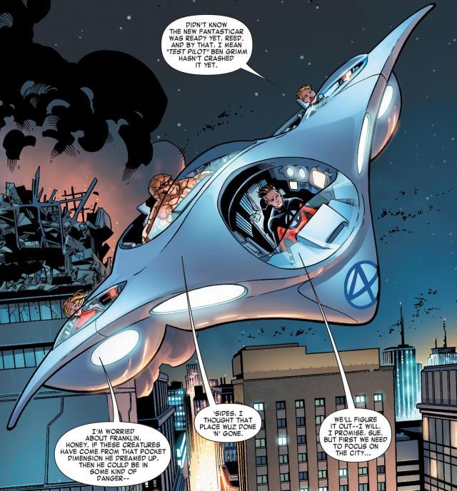 Fantasticar - Comics